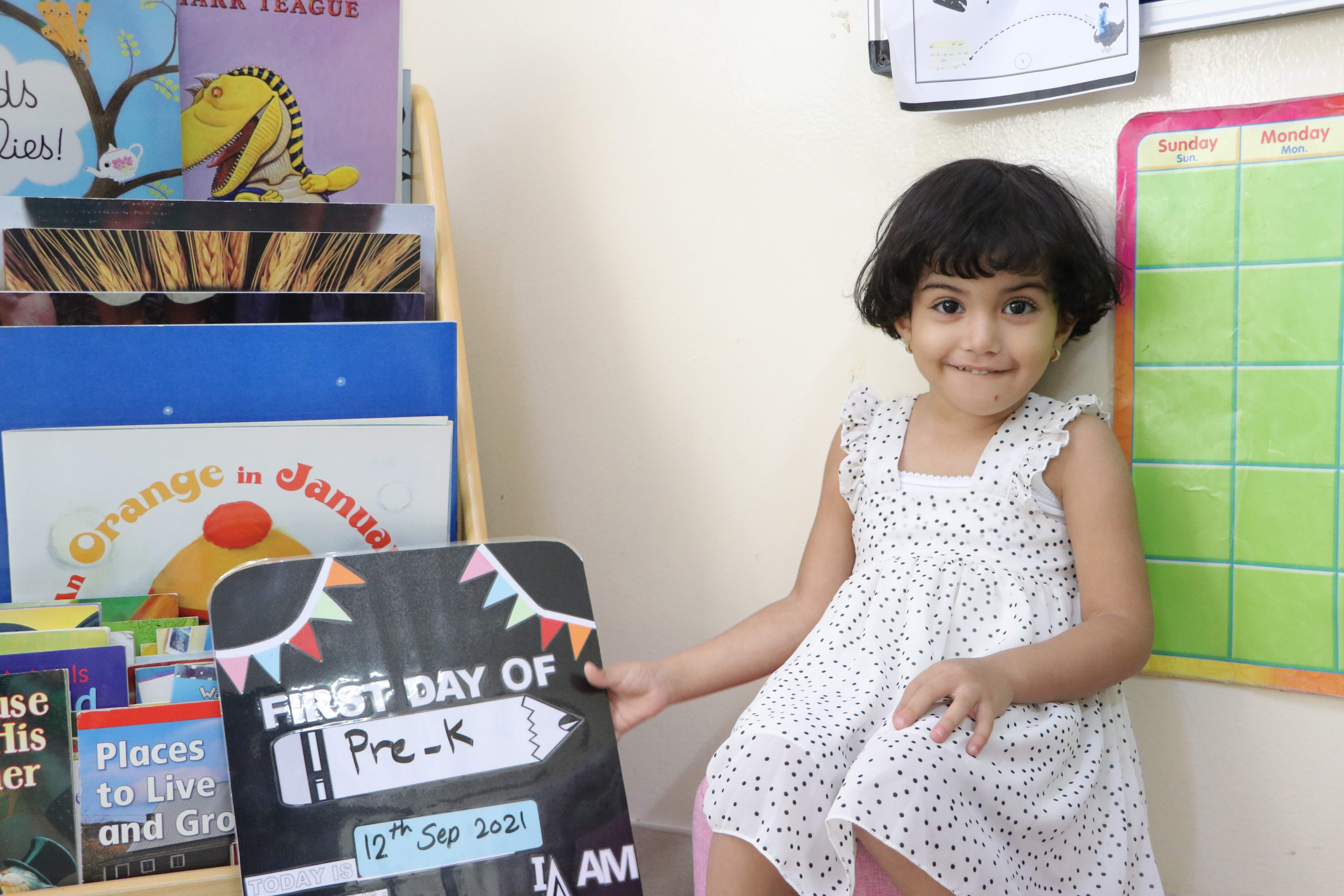 PRE-KG First Day